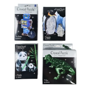 Leksak kristallpussel från Safekid