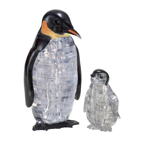 Leksak två kristall pingviner från Safekid