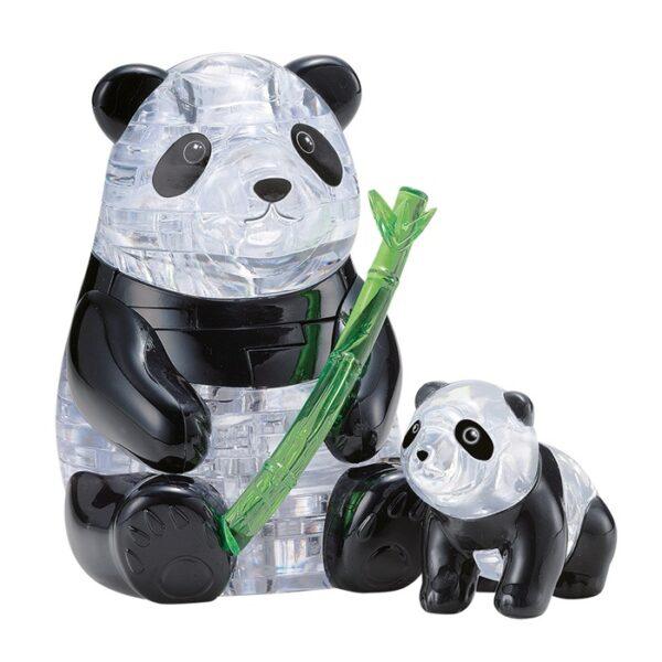 Leksak två kristall pandor från Safekid